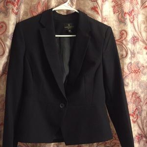 Worthington Blazer Single Button Black